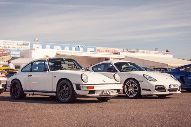 Porsche Club Festival old vs. new