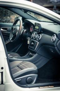 Mercedes-Benz A-sarjan sisusta