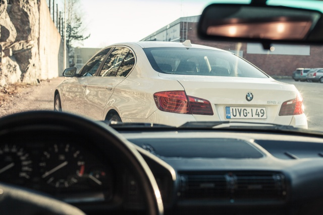 BMW 518: F10 perä.