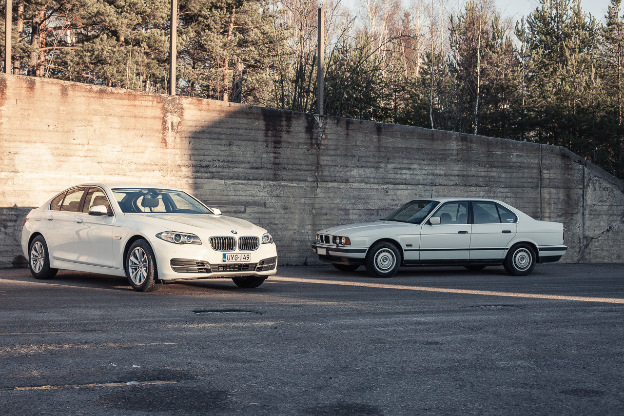 BMW 518: E34 ja F10