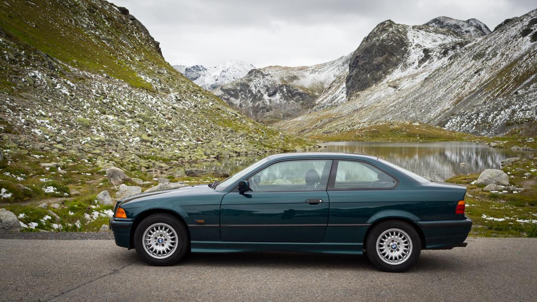 BMW 323i & Flüela-Pass