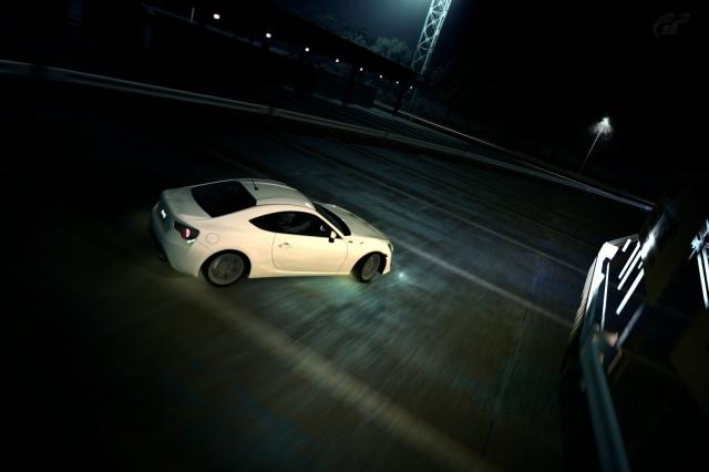 Toyota GT-86 sivuluisussa