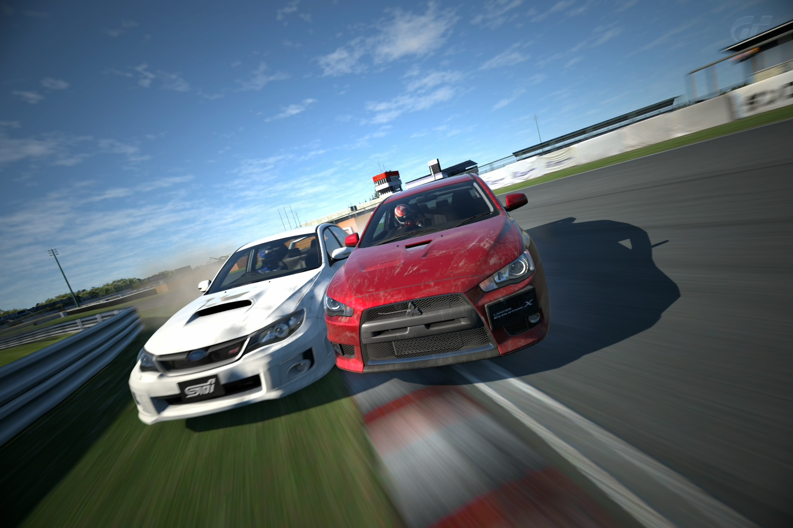 Subaru Impreza STi vs Mitsubishi Evolution X