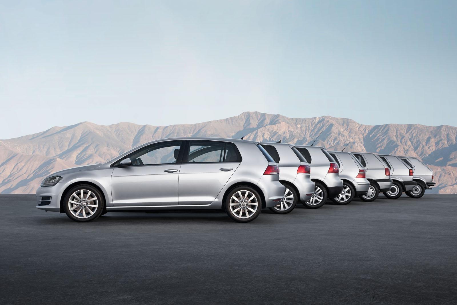 Volkswagen Golf -korimallit
