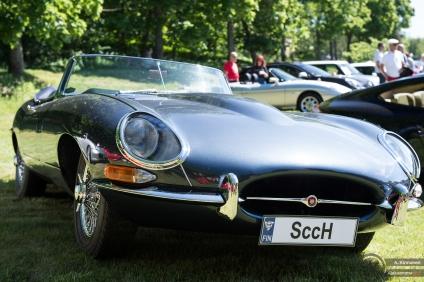 Jaguar E-type piristää aina päivää