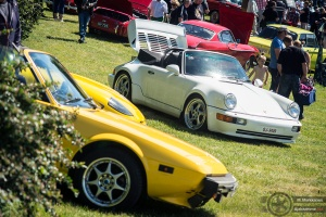Volvo, Fiat ja Porsche Concoursessa 2014