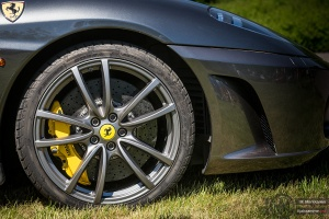 Ferrarin jarrut Concoursessa 2014