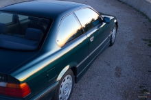 Auringonlasku ja BMW