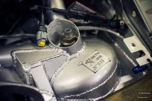 Peugeot 208 T16 R5:n etuiskunvaimentimien tornit ovat reilusti vahvistettuja