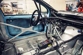 Peugeot 208 T16 R5 sisältä