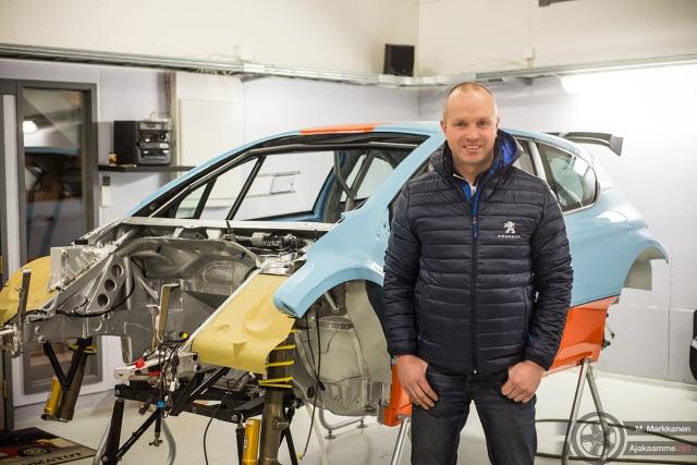 Juha Salo ja Salo Racingin Peugeot 208 T16 R5