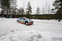 #13 Juha Salo / Peugeot 208 T16 R5. Pohjanmaa-ralli, EK3.