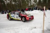 #16 Jussi Vainionpää / Mitsubishi Lancer Evo 9. Pohjanmaa-ralli, EK3.