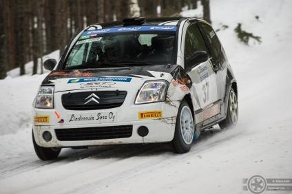 #37 Vesa Lehmussaari / Citroën C2 R2. Pohjanmaa-ralli, EK3.