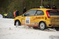 #66 Asko Kujala / Ford Fiesta ST. Pohjanmaa-ralli, EK3.