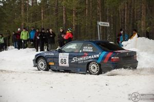 #68 Jari Kihlman / BMW E36 M3. Pohjanmaa-ralli, EK3.