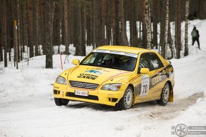 #70 Hannu Leinonen / Toyota Altezza RS200 (Lexus IS200). Pohjanmaa-ralli, EK3.