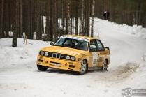 #76 Marko Mäkiniemi / BMW E30 M3. Pohjanmaa-ralli, EK3.