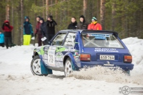 #79 Arto Ala-Kokkila / Toyota Starlet. Pohjanmaa-ralli, EK3.