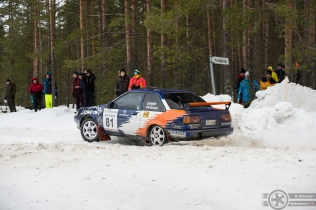 #81 Jari Koski / Toyota Corolla GT. Pohjanmaa-ralli, EK3.