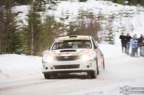 #5 Kees Burger / Subaru Impreza WRX STI. Pohjanmaa-ralli, EK4.