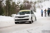 #9 Mikko Ala-Talkkari / Subaru Impreza WRX STI. Pohjanmaa-ralli, EK4.