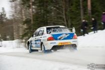 #10 Jukka Kasi / Mitsubishi Lancer Evo 9. Pohjanmaa-ralli EK4