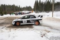 #23 Joonas Soilu / Mitsubishi Lancer Evo 9. Pohjanmaa-ralli, EK4.