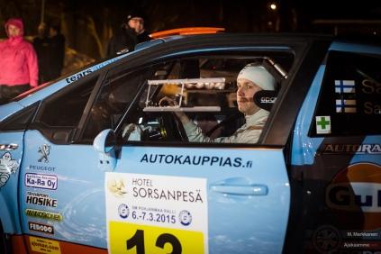 #13 Juha Salo / Peugeot 208 T16 R5. Pohjanmaa-ralli, perjantai.