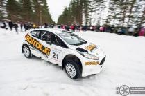 #21 Jukka Hiltunen / Ford Fiesta R5. Pohjanmaa-ralli, EK3.