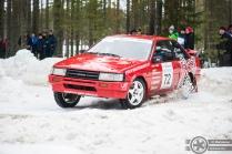 #72 Kalle Soini / Toyota Corolla GT. Pohjanmaa-ralli, EK3.