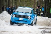 #75 Tomi Kankaanpää / VW Golf GTI 16V. Pohjanmaa-ralli, EK3.