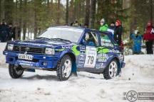#79 Mika Hautaniemi / Toyota Starlet. Pohjanmaa-ralli, EK3.