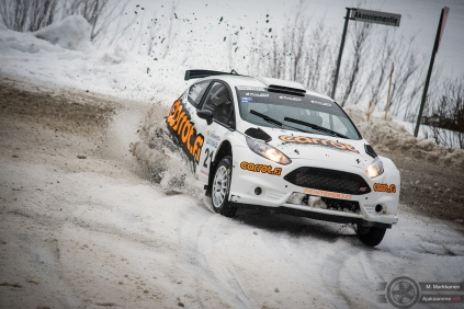 #21 Jukka Hiltunen / Ford Fiesta R5. Pohjanmaa-ralli, EK4.