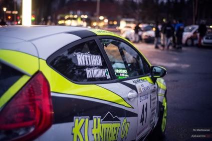 #41 Kari Hyttinen / Ford Fiesta R2. Pohjanmaa-ralli.