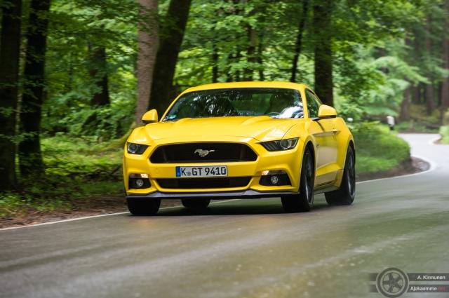 Mustang ajokuva