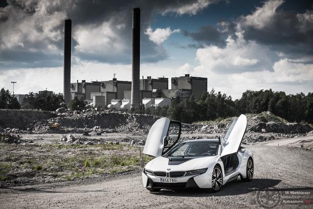 BMW i8 voimala